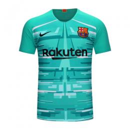 19/20 Barcelona Goalkeeper Blue Soccer Jerseys Shirt