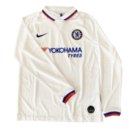 19/20 Chelsea Away White Long Sleeve Jerseys Shirt