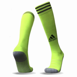Adidas Copa Zone Cushion Soccer Socks-Neon Green