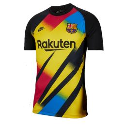 19/20 Barcelona Goalkeeper Black&Yellow Soccer Jerseys Shirt