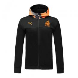 19/20 Marseilles Black Hoodie Jacket