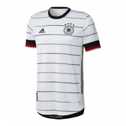2020 Germany Home White Jerseys Shirt(Player Version)