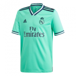 19/20 Real Madrid Third Away Green Soccer Jerseys Shirt(Player Version)