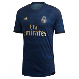19-20 Real Madrid Away Navy Soccer Jerseys Shirt