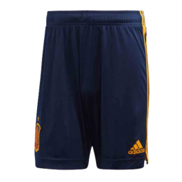 2020 World Cup Spain Home Navy Jerseys Soccer Short