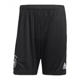 2020 World Cup Germany Home Black Soccer Jerseys Short