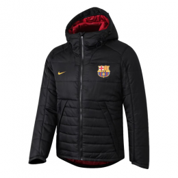 19/20 Barcelona Black Winter Training Jacket