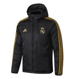 19/20 Real Madrid Black Winter Training Jacket