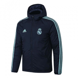 19/20 Real Madrid Dark Gray Winter Training Jacket