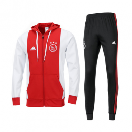 19/20 Ajax Red Hoody Training Kit(Jacket+Trouser)