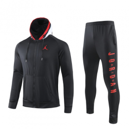 19/20 PSG Black Hoody Training Kit(Jacket+Trouser)