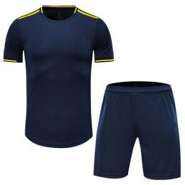 Arsenal Style Customize Team Navy Soccer Jerseys Kit(Shirt+Short)