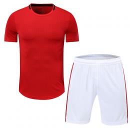 Manchester United Style Customize Team Black&White Soccer Jerseys Kit(Shirt+Short)