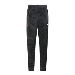 19/20 AC Milan Black Training Trousers