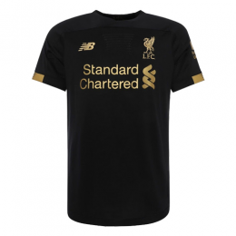 19-20 Liverpool Goalkeeper Black Soccer Jerseys Shirt