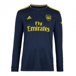 19/20 Arsenal Third Away Black Long Sleeve Soccer Jerseys Shirt
