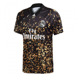 19/20 Real Madrid EA Sports Fourth Black&Golden Soccer Jerseys Shirt