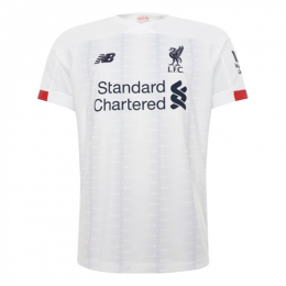 19/20 Liverpool Away White Soccer Jerseys Shirt