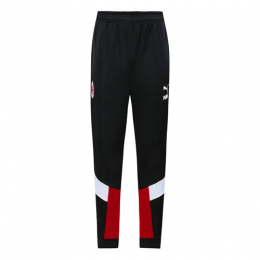 19/20 AC Milan Black&Red&White Training Trousers
