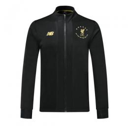 19/20 Liverpool Black High Neck Collar Training Jacket
