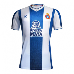 19/20 RCD Espanyol Home Blue&White Soccer Jerseys Shirt