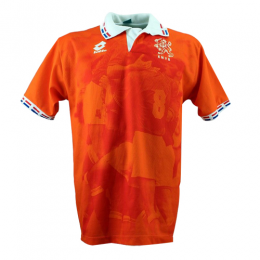 1996 Netherlands Retro Home Orange Soccer Jerseys Shirt