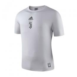 19-20 Juventus Logo T Shirt-Pink