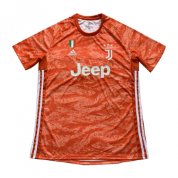 19/20 Juventus Goalkeeper Orange Soccer Jerseys Shirt