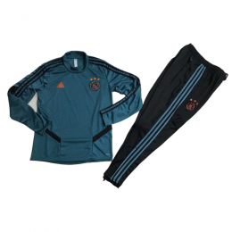Kids 19-20 Ajax Dark Green Sweat Shirt Kit(Top+Trouser)