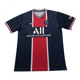 20/21 PSG Home Navy&Red Soccer Jerseys Shirt