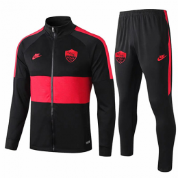 19/20 Roma Black&Red Training Kit(Jacket+Trouser)