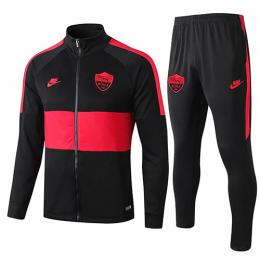 19/20 Roma Black&Red Training Kit(Jacket+Trouser)