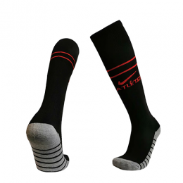 19/20 Atletico Madrid Away Black Jerseys Socks