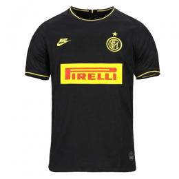 19/20 Inter Milan Third Away Black Soccer Jerseys Shirt(Player Version)