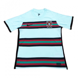 2020 Portugal Away Light Blue Jerseys Shirt