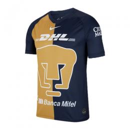 2020 UNAM Pumas Third Away Black&Golden Soccer Jerseys Shirt