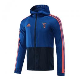 20/21 Juventus Navy&Blue Hoodie Windrunner Jacket
