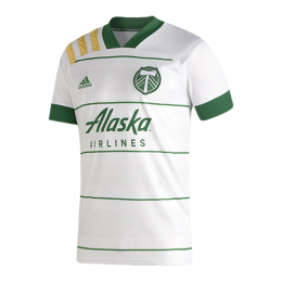 2020 Portland Timbers Away White Soccer Jerseys Shirt
