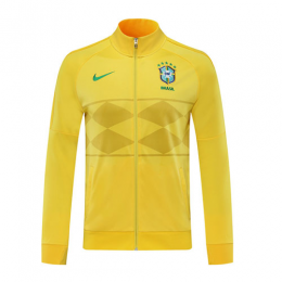 2020 Brazil Yellow Player Version Tranining Jacket