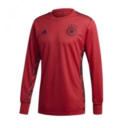 2020 Germany Goalkeeper Red Long Sleeve Jerseys Shirt