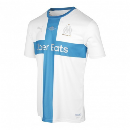 19/20 Marseille 120th Anniversary White Soccer Jerseys Shirt