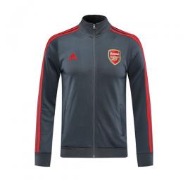 20/21 Arsenal Gray High Neck Collar Training Jacket