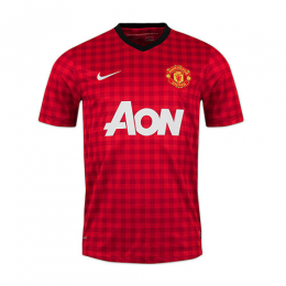 12/13 Manchester United Home Red Retro Jerseys Shirt