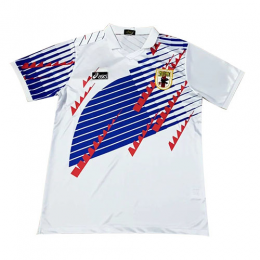 1994 World Cup Japan Away White Retro Soccer Jerseys Shirt