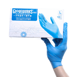 100PCS/BOX Plastic Disposable Cleaning Environmentally Friendly Gloves