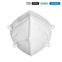 KN95 Standard Breathable Antivirus Dustproof Mask(10 PCS)