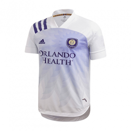 2020 Orlando City Away White Soccer Jerseys Shirt(Player Version)