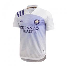 2020 Orlando City Away White Soccer Jerseys Shirt(Player Version)