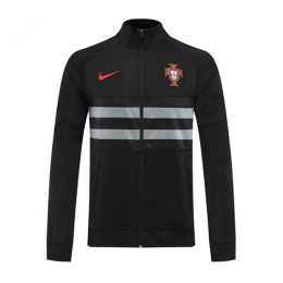 2020 Portugal Black Player Version Tranining Jacket