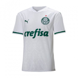 2020 Palmeiras Away White Soccer Jerseys Shirt(Player Version)